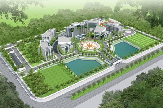 Công trình: Trung tâm hành động bom mìn Quốc gia Việt Nam  Tổng mức đầu tư của dự án: 500 tỷ đồng Thời gian thực hiện: 2015