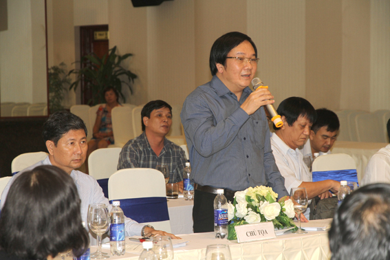 Viện trưởng Đỗ Thanh Tùng phát biểu tại hội thảo