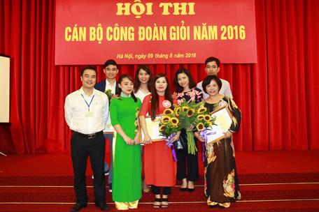 Công Đoàn Viện KTQG giành 03 giải Hội thi cán bộ Công đoàn giỏi
