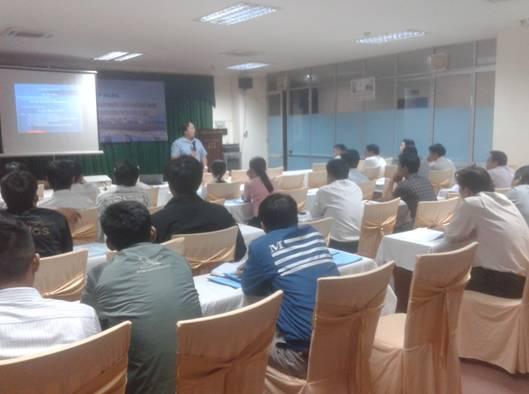 Lớp phổ biến văn bản quy phạm pháp luật tại TP Quảng Ngãi