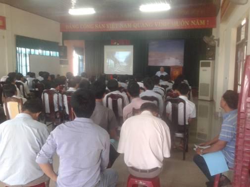 Lớp phổ biến văn bản quy phạm pháp luật tại TP Quảng Nam