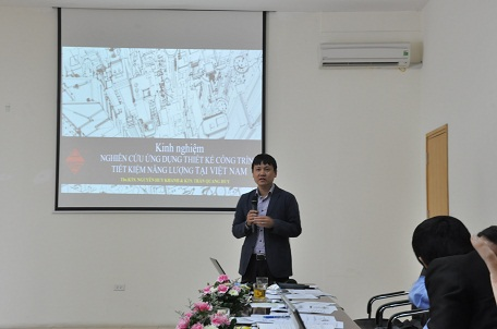 Ông Nguyễn Huy Khánh chia sẻ kinh nghiệm từ Tổng Công ty Tư vấn Xây dựng Việt Nam (VNCC)