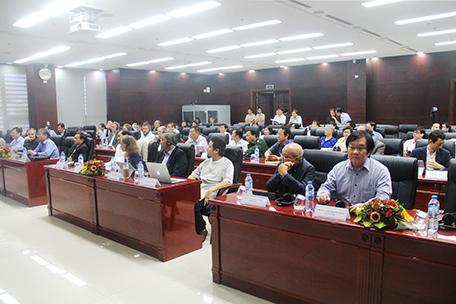 Viện trưởng Viện Kiến trúc Quốc gia tham dự tại buổi khai mạc