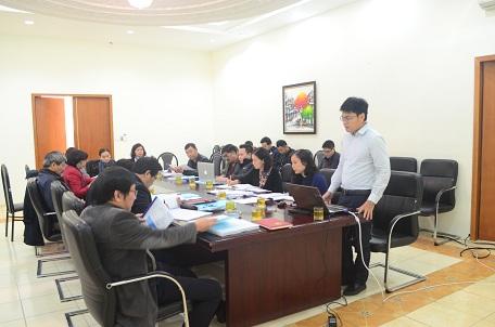 KTS Nguyễn Quốc Hoàng báo cáo dự án TKĐH