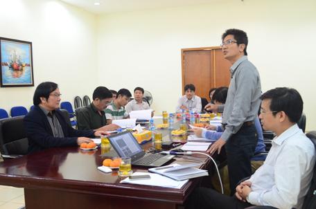 Họp nghiệm thu cấp cơ sở Quy hoạch chi tiết Tỷ lệ 1/500 – Trung tâm xã Văn Lang, huyện Hà Hòa, tỉnh Phú Thọ