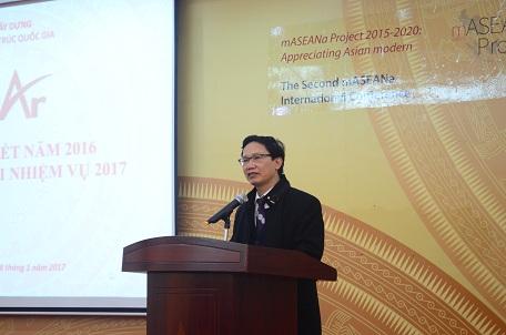Thứ trưởng Nguyễn Đình Toàn phát biểu tại buổi lễ