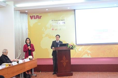 Thứ trưởng Bộ Xây dựng Nguyễn Đình Toàn phát biểu tại Hội thảo