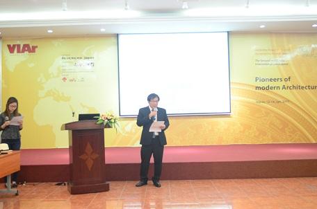 Viện trưởng Đỗ Thanh Tùng phát biểu khai mạc
