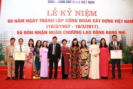 Công đoàn Viện KTQG đoạt giải cao cuộc thi viết tìm hiểu 60 năm ngày thành lập CĐXDVN