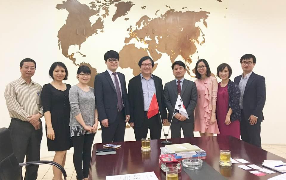 Viện Kiến trúc Quốc gia làm việc với Viện nghiên cứu chính sách Xây dựng  Hàn Quốc
