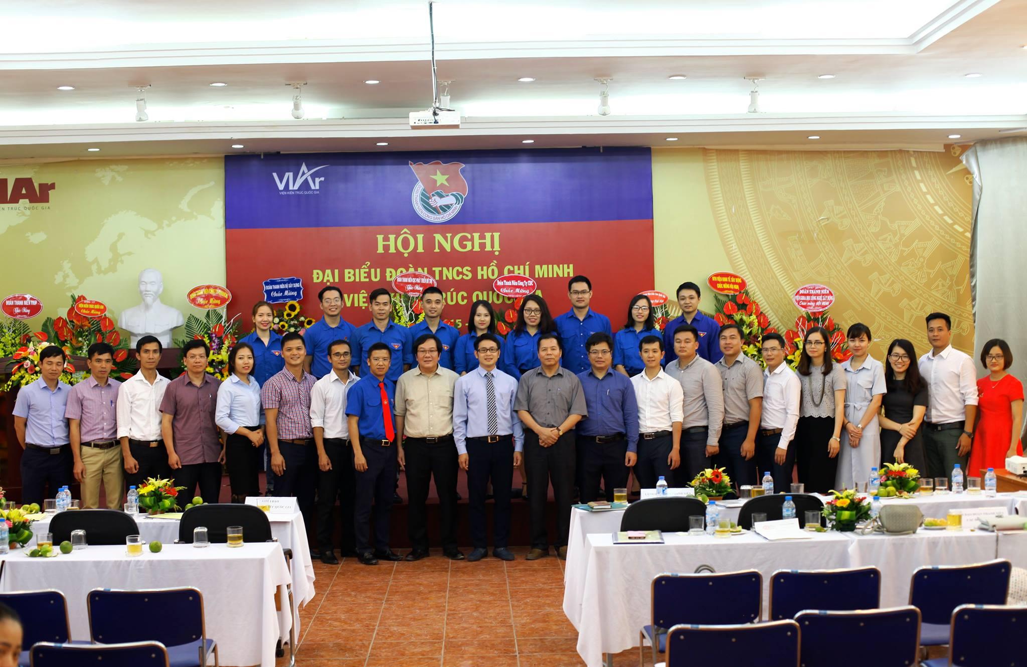 Hội nghị Đại biểu Đoàn TNCS HCM Viện Kiến trúc Quốc gia
