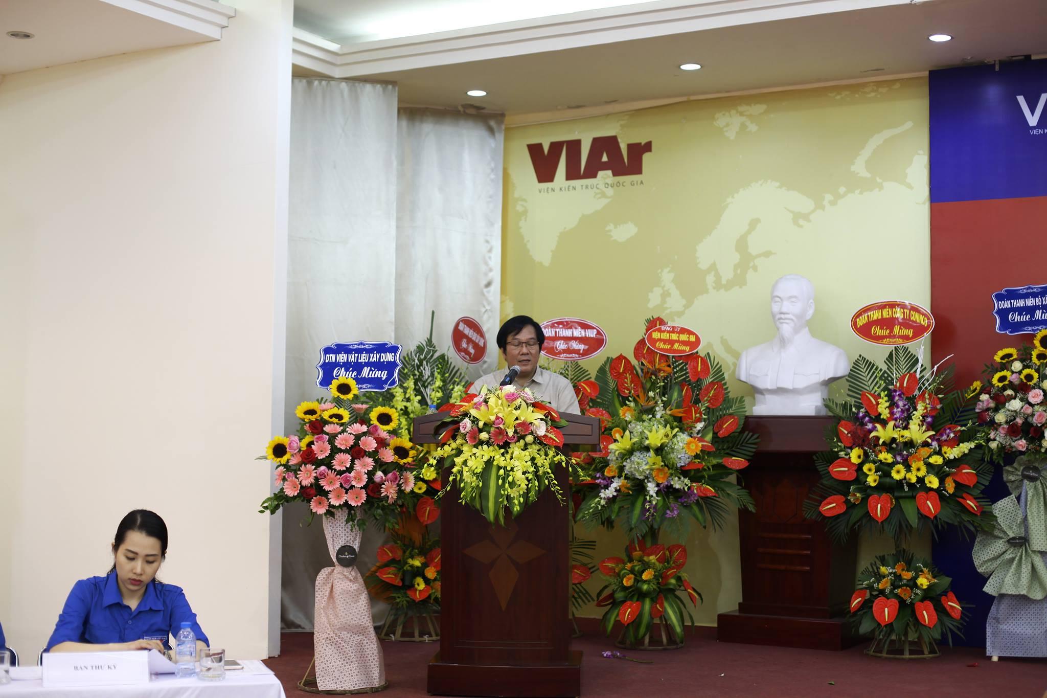 Viện trưởng Đỗ Thanh Tùng phát biểu tại Hội nghị