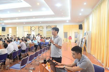 KTS Nguyễn Tuấn Minh – Viện Kiến trúc Quốc gia báo cáo tham luận