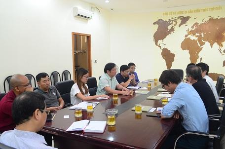 Lãnh đạo Viện Kiến trúc Quốc gia làm việc với chuyên gia Nhật Bản