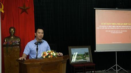Chủ tịch tỉnh Hà Tĩnh, ông Đặng Quốc Khánh có mặt chỉ đạo buổi làm việc