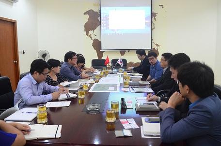 Viện Kiến trúc Quốc gia làm việc với đối tác Hàn Quốc