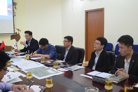 Đoàn công tác Hàn Quốc