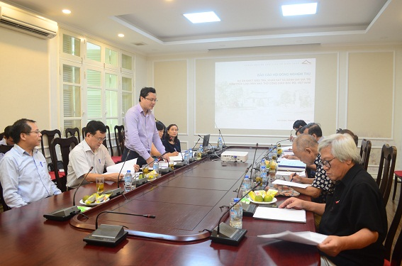 """Nghiệm thu cấp Bộ dự án """"Điều tra, khảo sát và đánh giá giá trị kiến trúc loại hình nhà thờ công giáo Bắc Bộ, Việt Nam"""""""