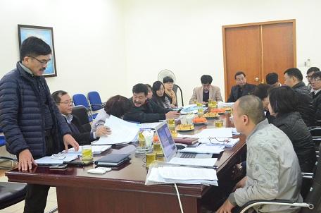 """Nghiệm thu cơ sở 03 Đề tài thuộc """"Đề án trợ cấp giúp NKT giai đoạn 2012 – 2020"""""""