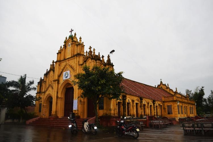 Ảnh chụp nhà thờ Xuân Hà - Nam Định