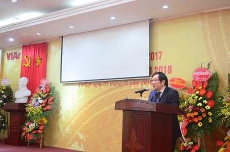 Viện trưởng Đỗ Thanh Tùng phát biểu