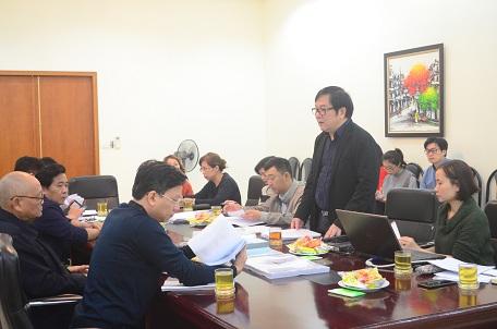 """Nghiệm thu Dự án SNKT: """"Điều tra, khảo sát, đánh giá giá trị kiến trúc nhà thờ công giáo Nam Bộ, Trung Bộ"""""""