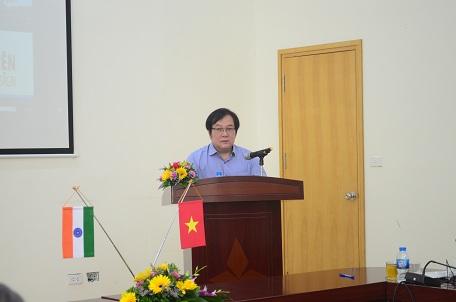 Viện trưởng Đỗ Thanh Tùng phát biểu khai mạc Hội thảo