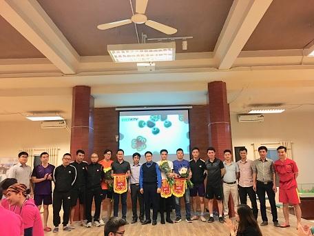 Sôi động giải bóng đá Viện Kiến trúc Quốc năm 2018
