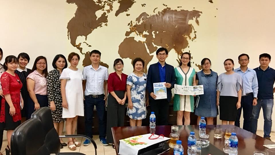 Viện KTQG làm việc với chuyên gia công trình xanh Đài Loan