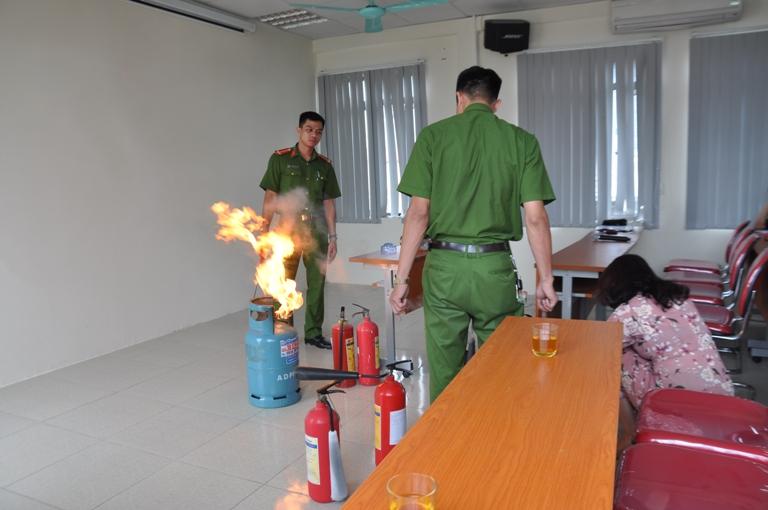 Tập huấn an toàn Phòng cháy chữa cháy năm 2018