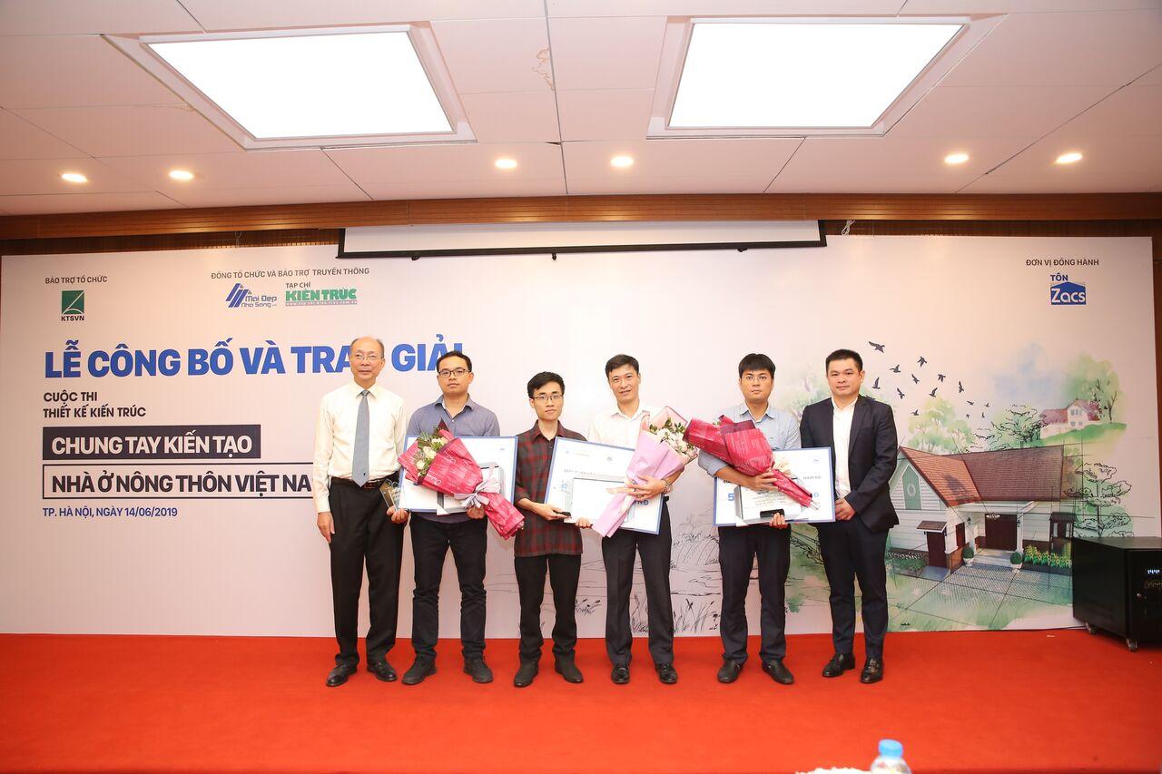 """Đồ án thiết kế Viện Kiến trúc Quốc gia đạt giải cao nhất Thiết kế kiến trúc """"Chung tay kiến tạo nhà ở nông thôn Việt Nam"""""""