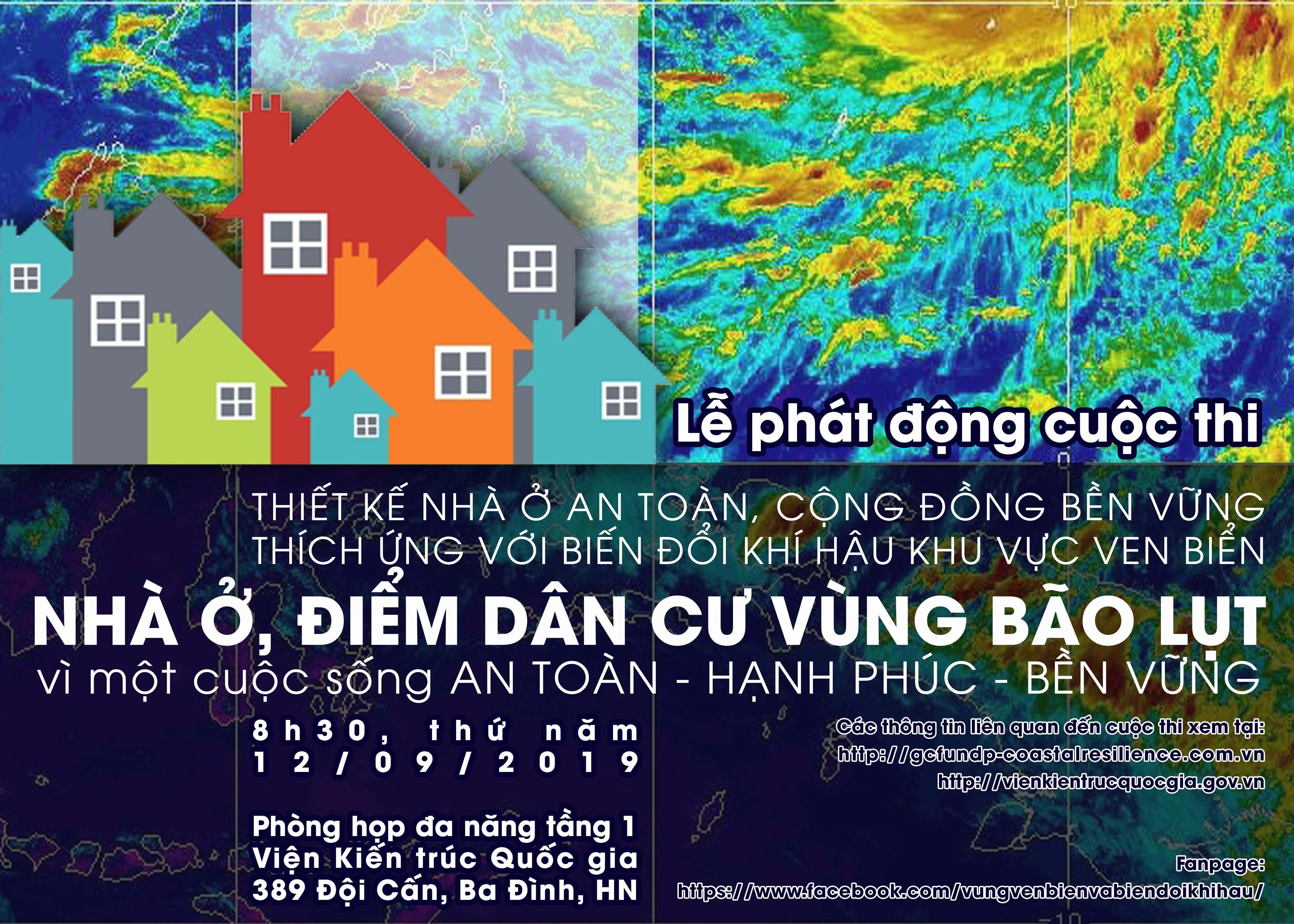 """Cuộc thi """"Thiết kế nhà ở an toàn – cộng đồng bền vững với biến đổi khí hậu khu vực ven biển"""""""