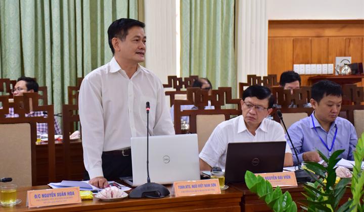 Chuyên gia quy hoạch đô thị Ngô Viết Nam Sơn tham gia ý kiến tại hội nghị