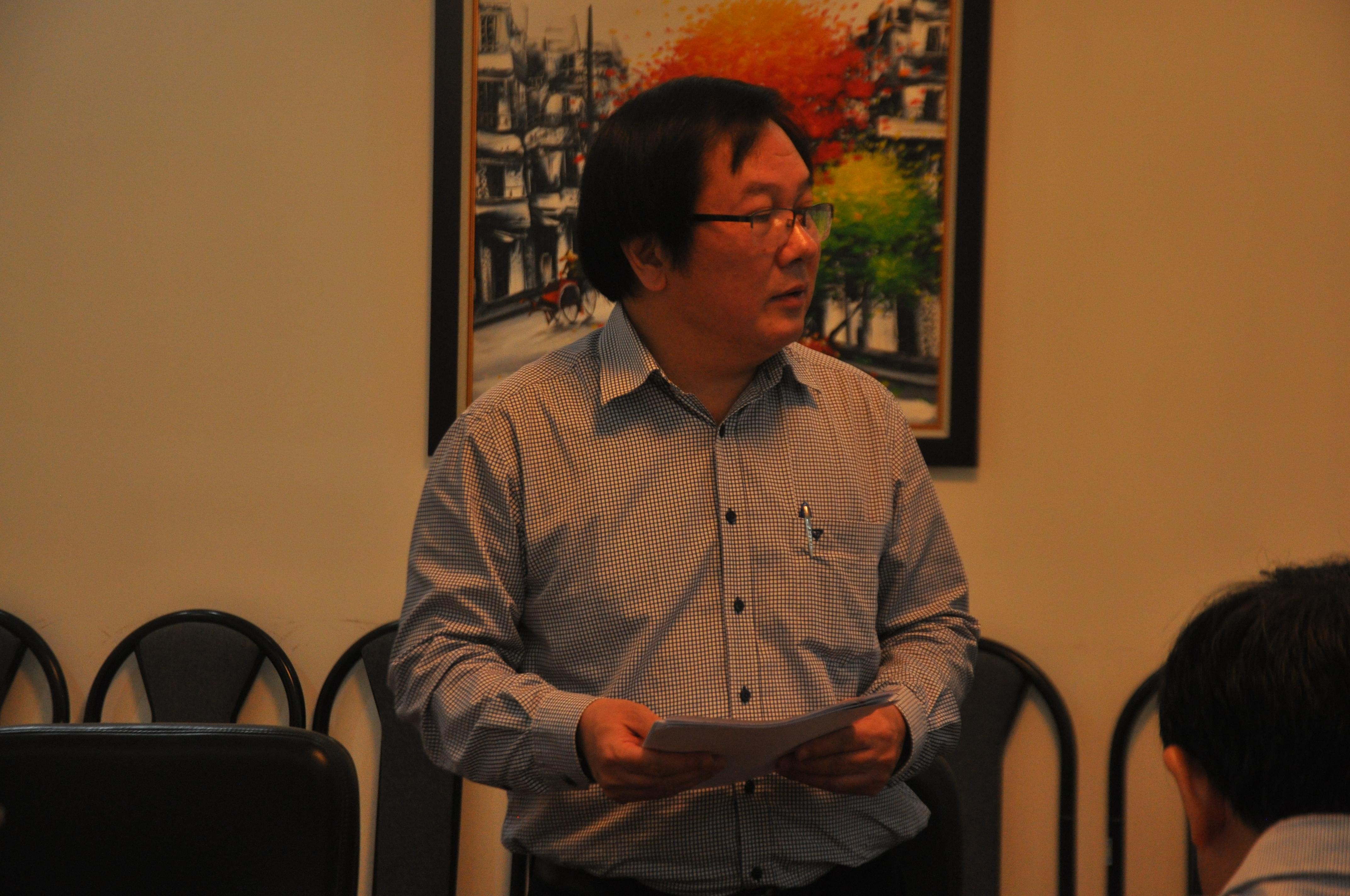 Chủ tịch Hội đồng - Viện trưởng Viện Kiến trúc Quốc gia Đỗ Thanh Tùng
