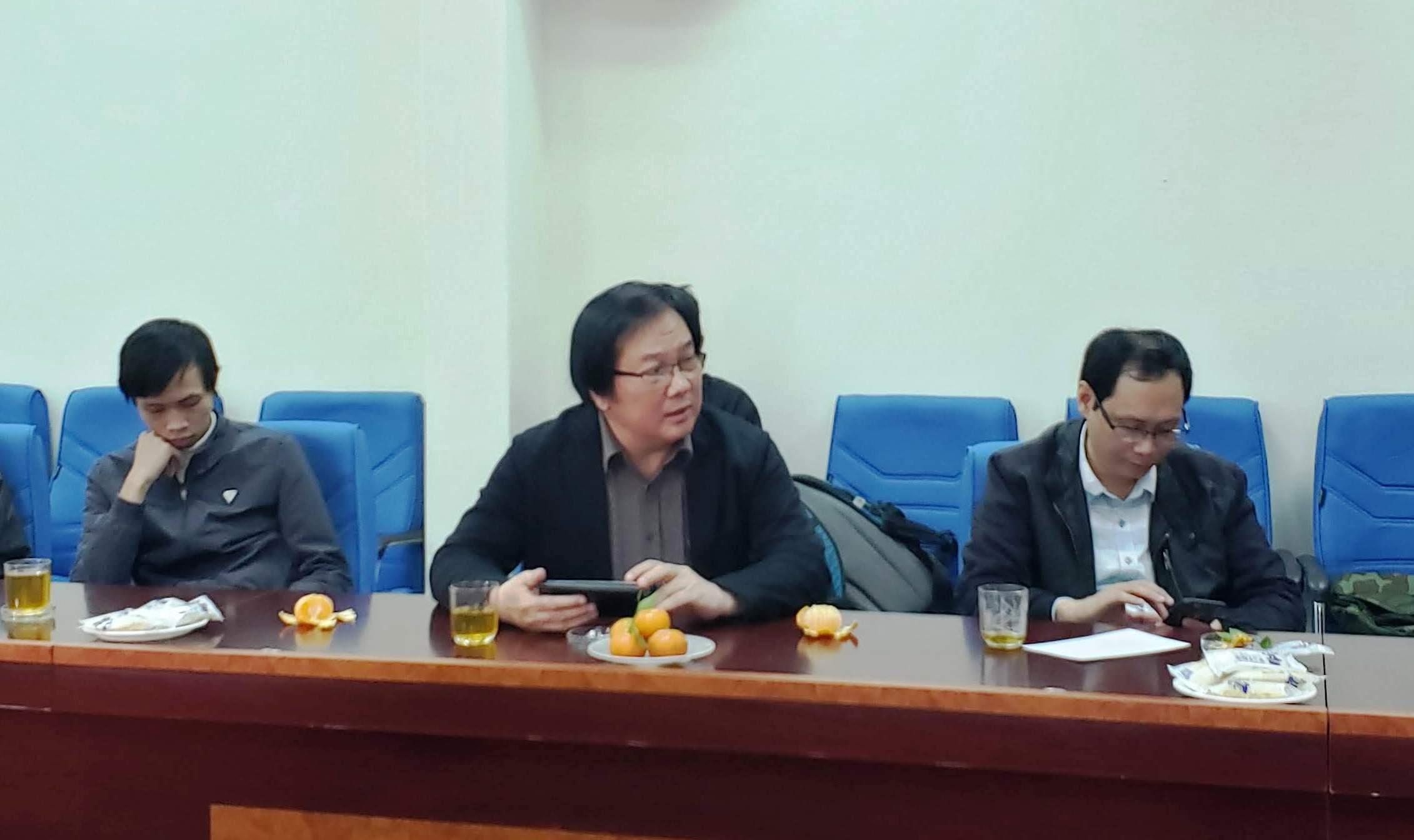 Viện trưởng Viện Kiến trúc Quốc gia Đỗ Thanh Tùng