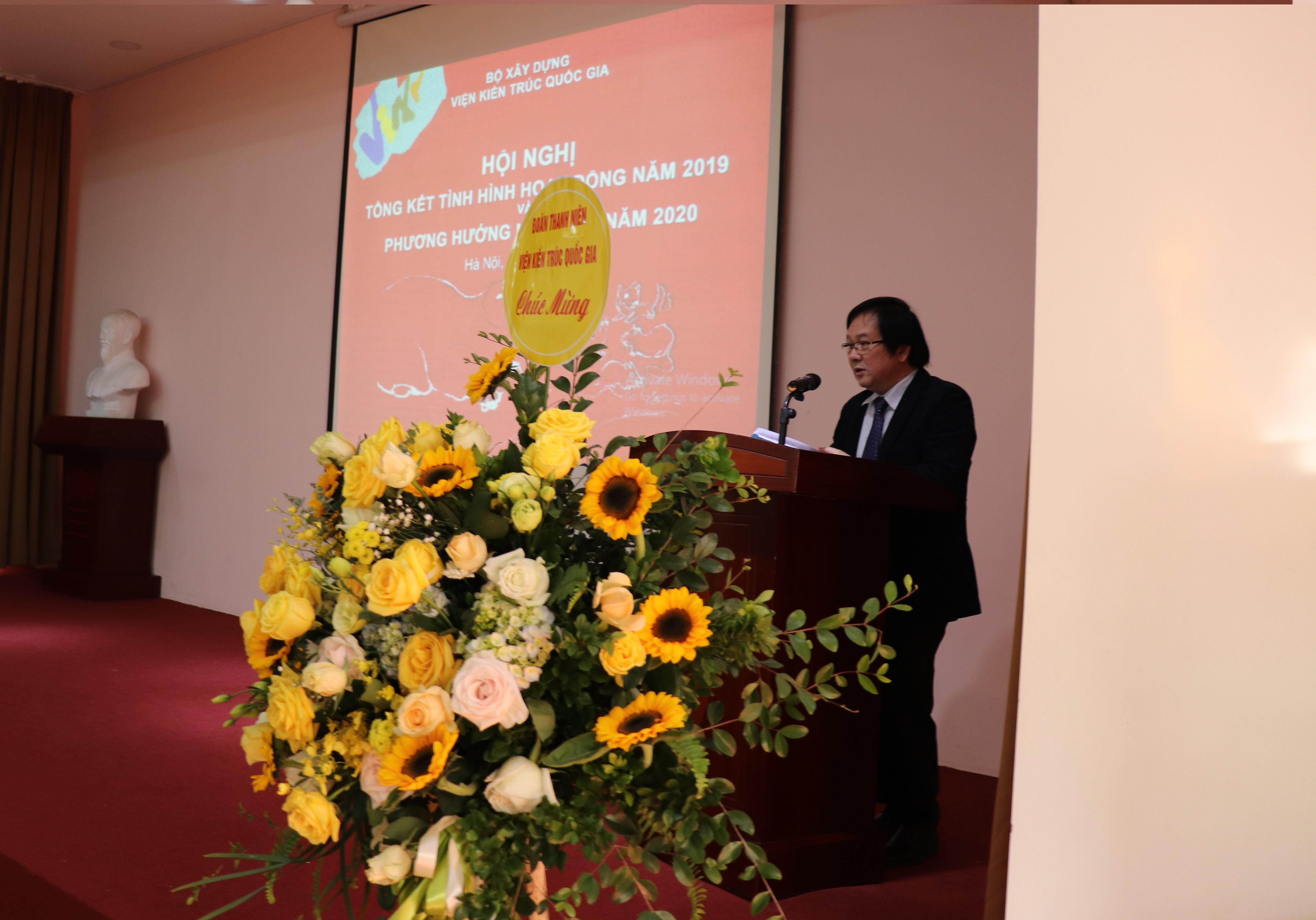 Hội nghị Tổng kết công tác năm 2019 và triển khai kế hoạch 2020 Viện Kiến trúc Quốc gia