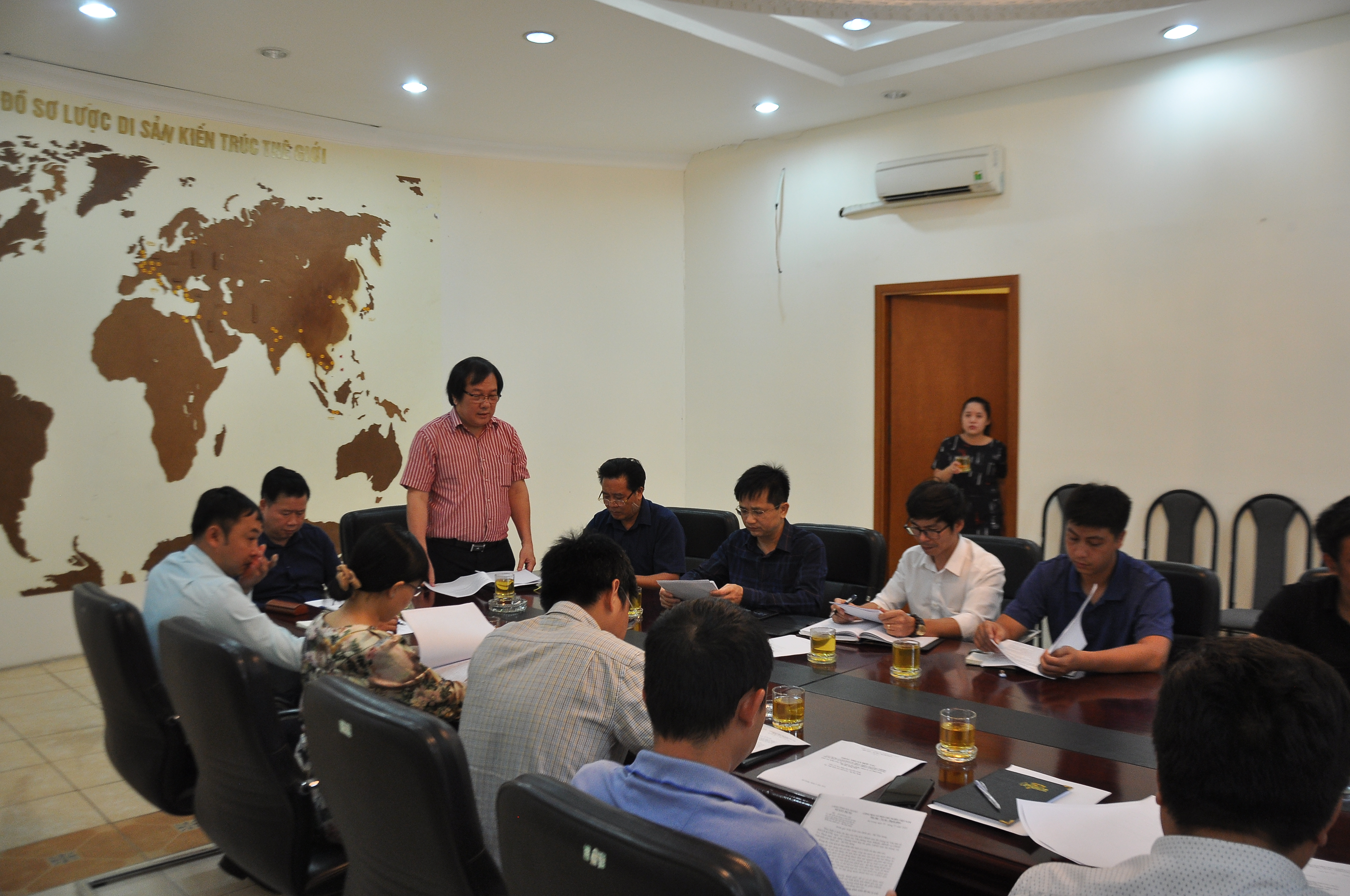 Viện Kiến trúc Quốc gia làm việc với UBND tỉnh Hà Giang