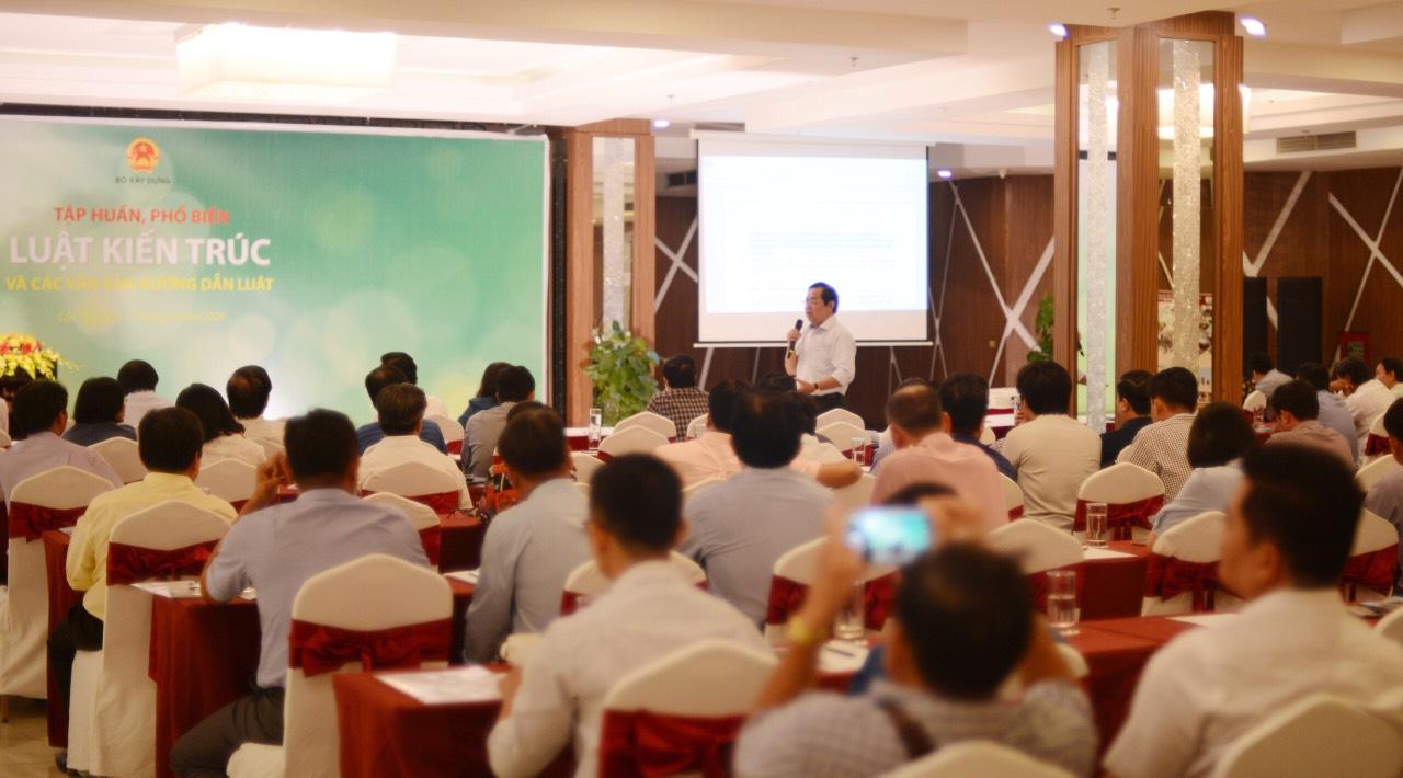 Hội nghị nhận được sự quan tâm của giới Kiến trúc sư vùng Đồng Bằng Sông Cửu Long.