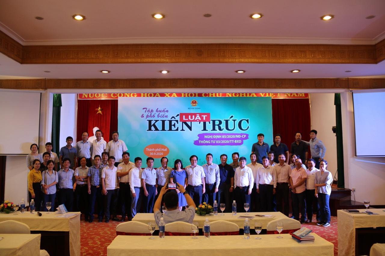 Hội nghị nhận được sự quan tâm của giới Kiến trúc sư khu vực miền Trung