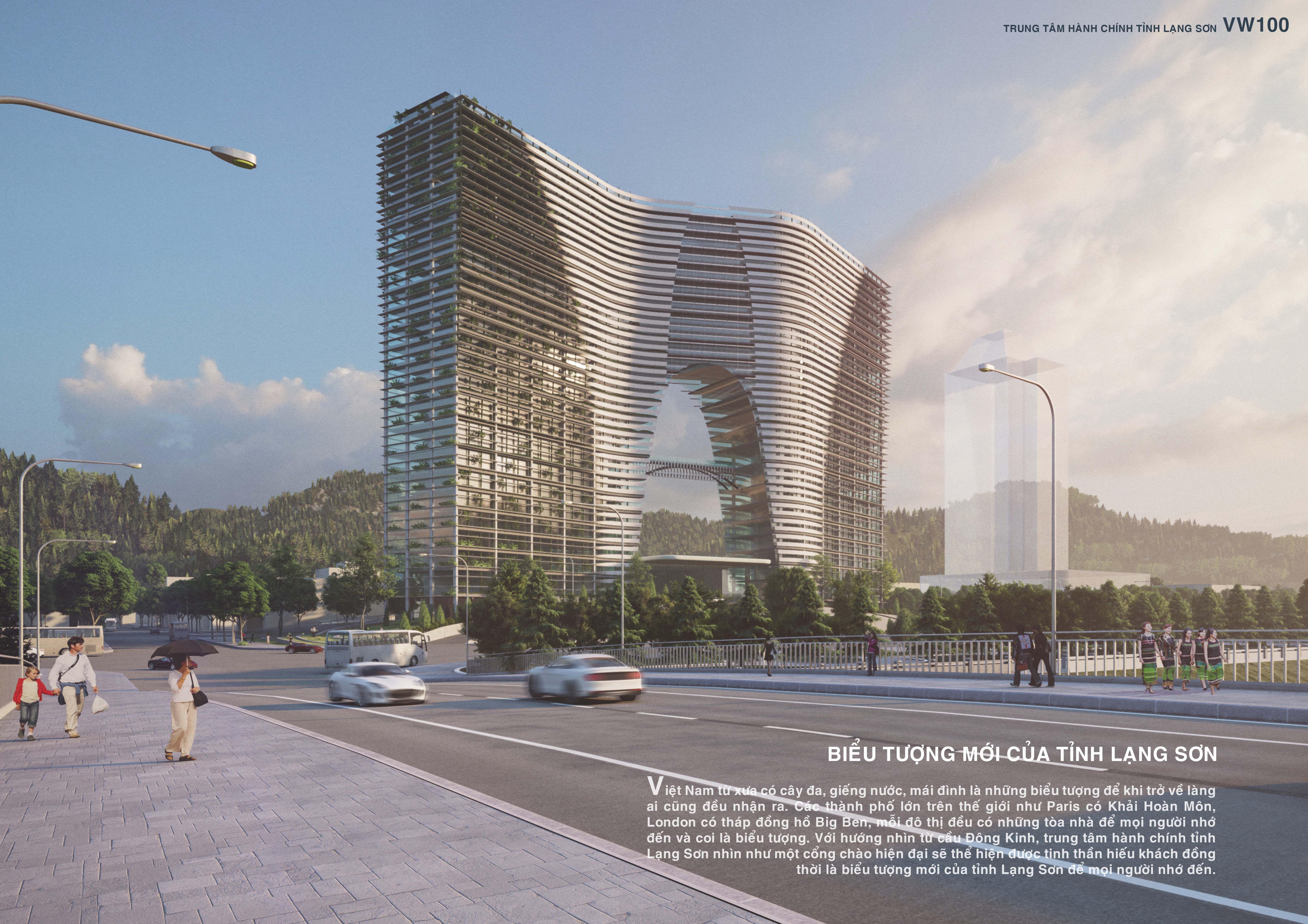 Công trình Tòa nhà Trung tâm hành chính tỉnh Lạng Sơn