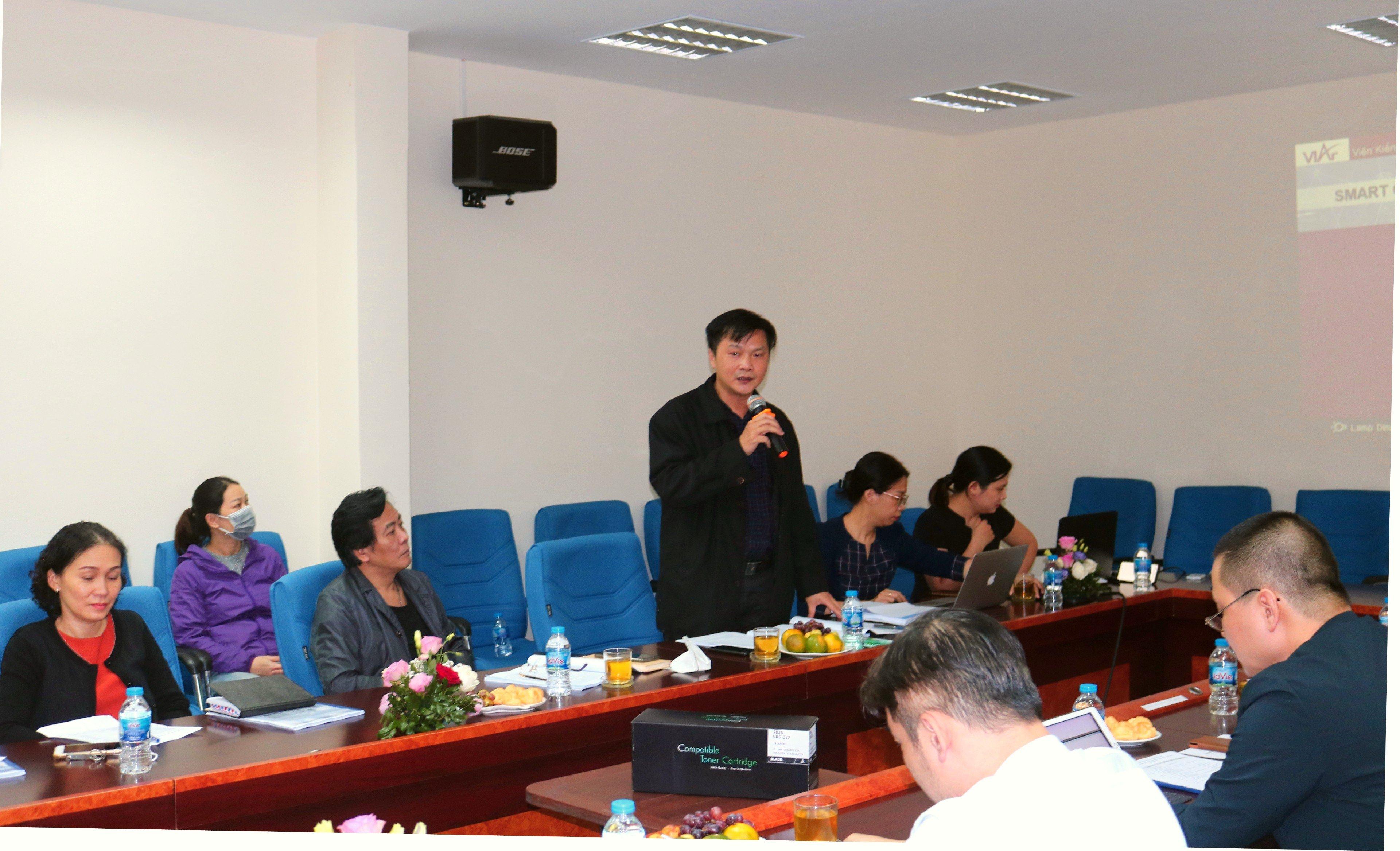 """Hội thảo """"Nghiên cứu xây dựng quy chế quản lý đầu tư phát triển khu đô thị thông minh"""""""